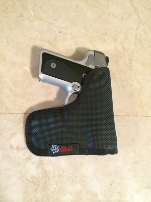 Kimber Solo with DeSantis pocket Holster