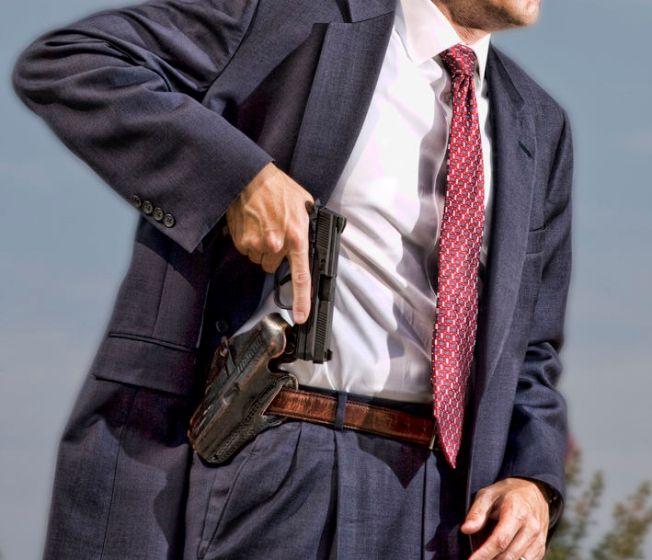 Two good reasons to own a handgun