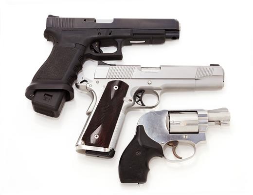 A Gallery of Guns