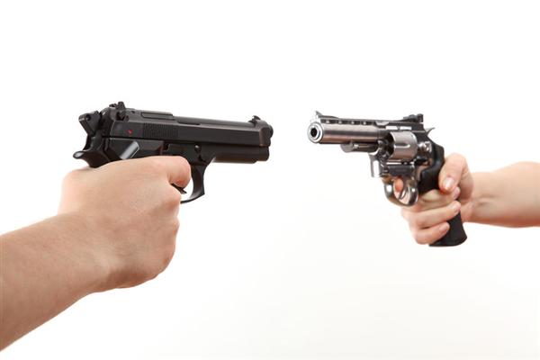 Revolver vs. Semi-Auto